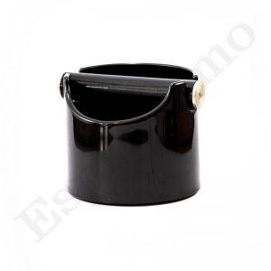 Knock box פח ריקון קפה שחור