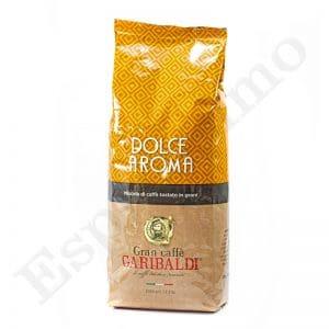 """1 ק""""ג פולי קפה Garibaldi Dolce Aroma"""