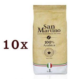 """10 ק""""ג פולי קפה SAN MARTINO- ערביקה 100%"""