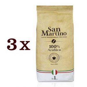 """3 ק""""ג פולי קפה SAN MARTINO- ערביקה 100%"""