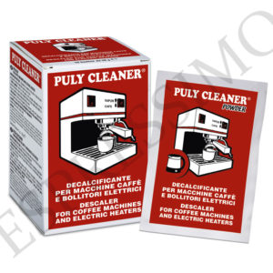 PULY CLEANER אבקה להסרת אבנית למכונת קפה