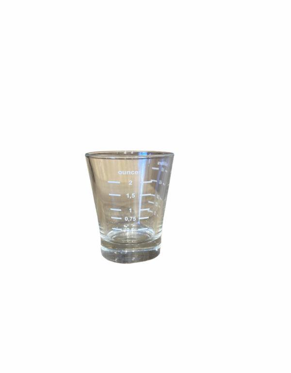 כוס למדידה מזכוכית