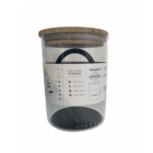 קופסת אחסון זכוכית לקפה AIRSCAPE נפח 500 גרם